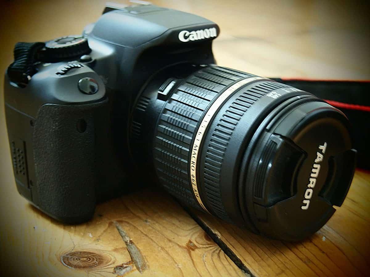 Lustrzanka Canon - Grupa 5D