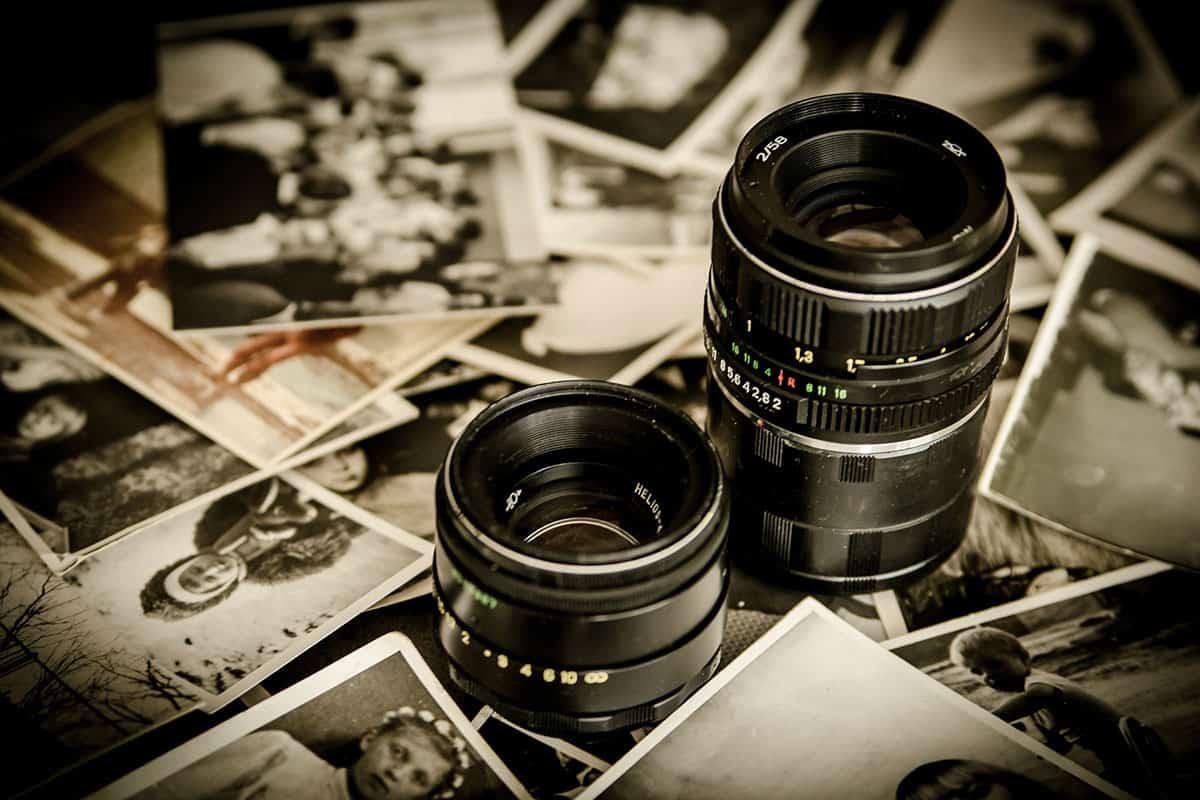 W fotografii ślubnej wykorzystuje się różne rodzaje obiektywów.