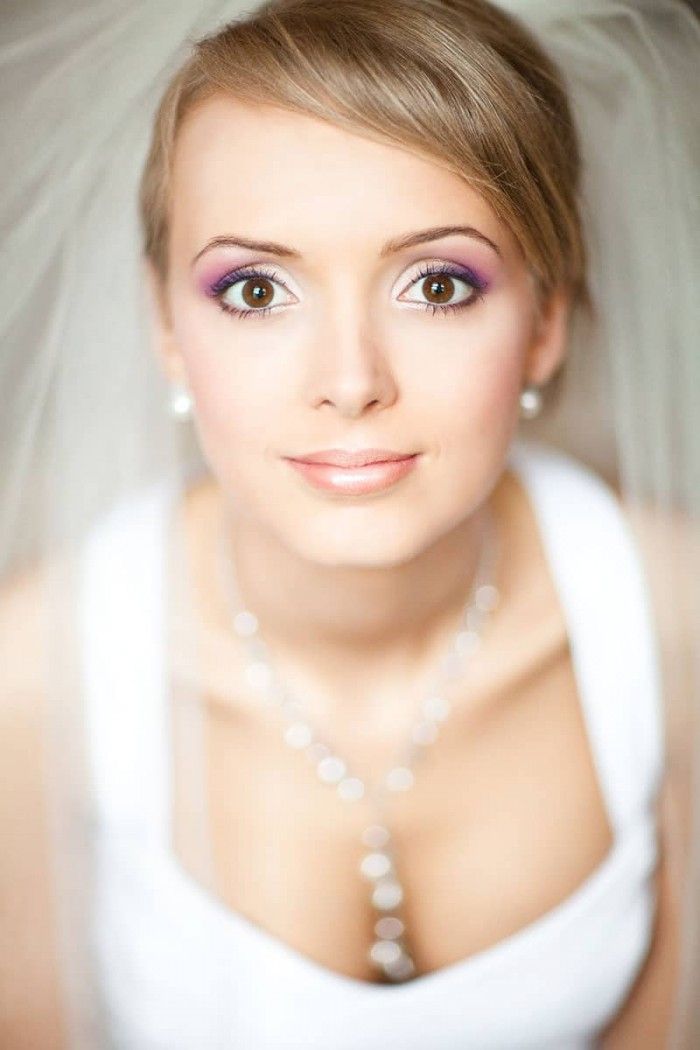 Portret Panny Młodej w fotografii ślubnej