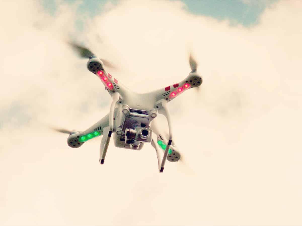 Dron fotograficzny wykorzystywany przez Grupę 5D z Bydgoszczy