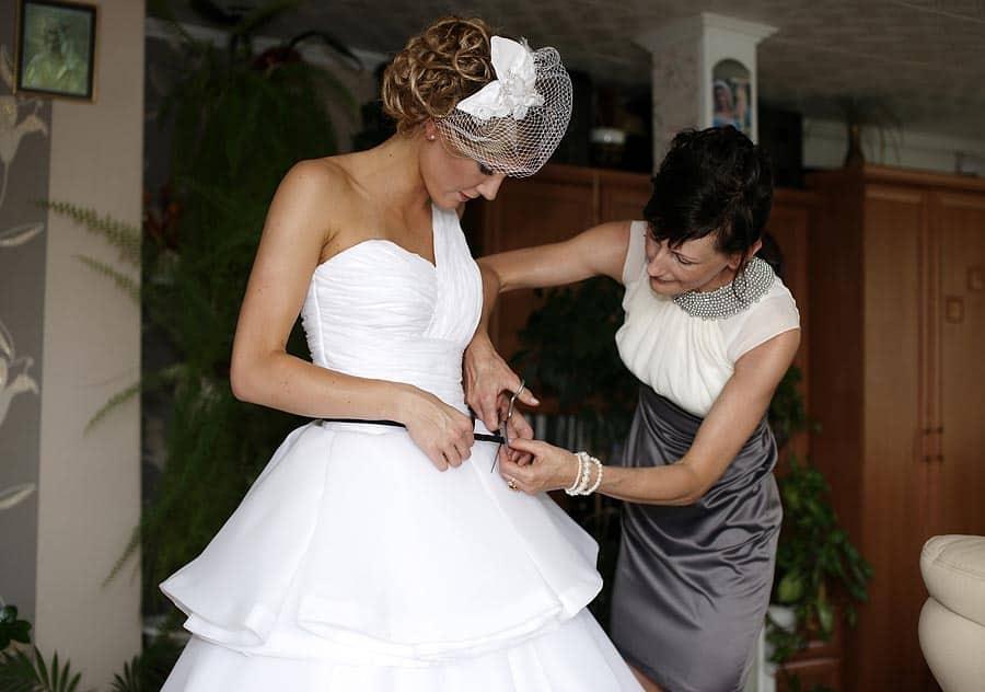 Grupa 5D zdjęcia ślubne przygotowania
